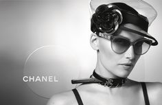 c68faabde54f92 Chanel - Lunettes été 2013 - Laetitia Casta Garde Robe, Lunettes Chanel,  Haute Couture