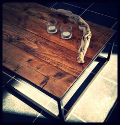 Pinewood Lounge Table from our Collection Steel N Wood