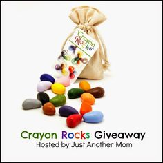 Crayon Rocks review with a giveaway via @puzzledpalate
