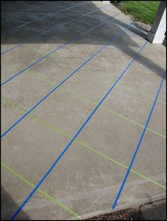 Staining Concrete Floors stain concrete patio slab to create marbled tile look - All For Garden Tile Patio Floor, Patio Slabs, Porch Flooring, Basement Flooring, Porch Tile, Patio Stone, Diy Flooring, Flooring Ideas, Concrete Porch