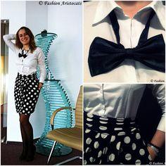Dots the way I like it Waist Skirt, High Waisted Skirt, Aristocats, Like Me, Dots, Skirts, Fashion, Stitches, Moda