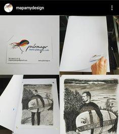 Un regalo único.  #arte #regalo #retrato Website Layout, Unique Gifts, Portraits, Illustrations, Art