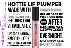 Hottie Lip Plumper by Younique www.glittercrew.com