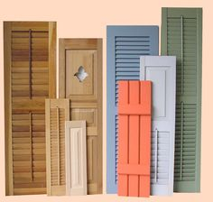 An exterior shutter is used either as a safeguard against the weather or as an aesthetic accessory for your house or business. They can be bought made of vinyl, wood, aluminum or fiberglass and designed to fit either a historical facade or one that is more modern. We also offer a complete line of #ShutterHardware in stainless steel, cast aluminum, cast iron and wrought steel.