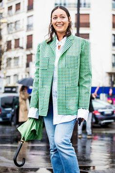 The gingham trend is huge for spring, and we couldn't be more excited. Here are the best pieces to shop now, plus street style–worthy ways to style them.