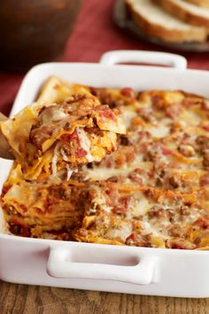 Simply Lasagna Recipe – Discover the only lasagna dish you'll ever need! Click this recipe to learn how to make this meaty, cheesy, crowd-pleasing, Italian classic on your dinner table tonight. Get the ingredients you need delivered to your home with Instacart where available.