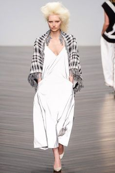 Blanket Coat Fashion Trend for Fall Winter 2013 | Ashish Fall Winter 2013  #LFW #Fashion  #Trends  #Trendy