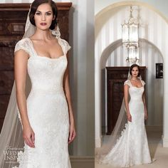 0364c796df7f Cheap wedding dress sleeve options, Buy Quality wedding gown chiffon  directly from China wedding gown informal Suppliers: Modest Capped Sleeves  Lace Bridal ...