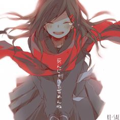 Find images and videos about girl, anime and sad on We Heart It - the app to get lost in what you love. Manga Anime, Oc Manga, Sad Anime, I Love Anime, Noragami Anime, Kawaii Anime Girl, Anime Art Girl, Manga Girl, Desu Desu