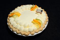 """""""Summer Breeze Pie""""- First place winner in the Citrus pie category, Amateur division at the 2012 APC/Crisco National Pie Championships!"""