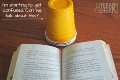Providing students with silent signals helps them assess their own thinking and understanding and it helps you assess several students at once so you have a better understanding of when to keep going and when to stop and provide your students with help and support! Read this blog post for ideas about how to use plastic cups as silent signals that help your students improve their reading strategies and self-assessment skills!