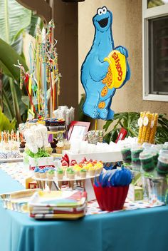 SESAME STREET THEMED 2ND BIRTHDAY PARTY