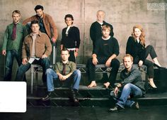 suicideblonde: Dominic Monaghan, Sean Astin, Andy Serkis, Orlando Bloom, Elijah Wood, Bernard Hill, Viggo Mortensen, Billy Boyd and Miranda Otto VIGGO'S BARE FEET! SOB! Who else thinks they're not as cool in real life as they are in the movies?!? Especially Viggo?!?
