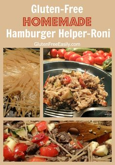 Homemade gluten-free, dairy-free version of Hamburger Helper that is less expensive, tastier, and far better for you than the boxed versions lining the grocery store shelves.