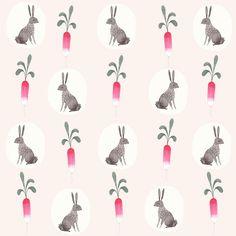 Bunny & Radish pattern by Julianna Swaney