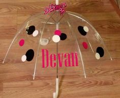 34 Kids Clear Plastic Dome Bubble Rain by southernsassbybrit