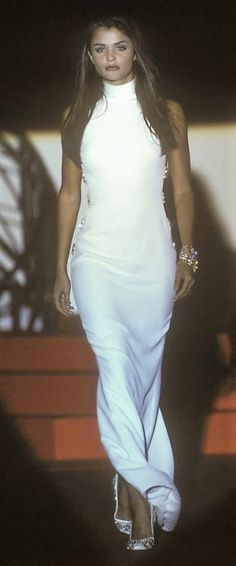 Helena Christensen - Gianni Versace, Autumn-Winter 1991, Couture