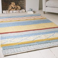 Handmade gorgeous Knotty rug