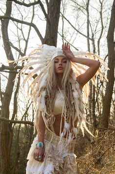 I am obsessed with this girls look! GIVEN TO THE WILD ⋙ // PHOTOGRAPHER Photography By Danniella Jaine OTHER CREATIVES INVOLVED - Flutterbydaisy Rouge Pony Native Feathers Model:Natalie Phillips 05/02/13