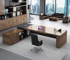 Office Cabin Design, Small Office Design, Office Furniture Design, Office Interior Design, Office Interiors, House Design, Modern Office Table, Home Office Table, Classic House Exterior