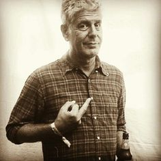 Anthony Bourdain, that's my guy Anthony Bourdain Quotes, Love Him, My Love, Parts Unknown, Raining Men, Actors, Madame, Famous Faces, Make Me Smile