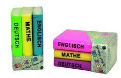 Radiergummi Collection Bücher Set