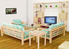 Jodhpurtrends.com Wooden Sofa And Furniture Set Designs For Small Living  Room With Coffee Table