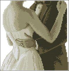 """Сачать схему вышивки """"Wedding dance"""""""