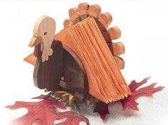 Fall-themed Napkin Holders