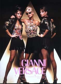 Gianni Versace SERA 1991 Photographed by Herb Ritts
