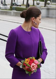 Crown Princess Victoria of Sweden visits as patron, the Nordic Museum May 6, 2014