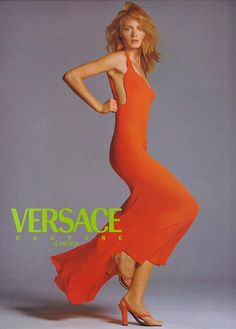 Versace ss 1996 Amber by Richard Avedon
