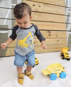 Construction birthday shirt, digger birthday shirt, construction t-shirt, digger shirt, construction birthday party, digger party