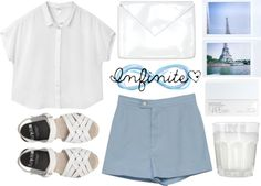 """Infinite as the Sea"" by teriarejola ❤ liked on Polyvore"