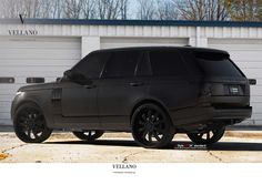 matte black range rover - Google Search