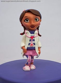 Doc McStuffins Cake – Sugar Sweet Cakes and Treats
