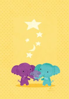 one of a series of 3 cards done for... | Lynn Gaines Design and Illustration