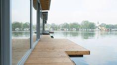 Idylle und urbanes Design - die Hausboote von Suite.030 #houseboat #Berlin #moebliert #luxus #design #Suite030