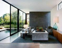 Glass corner instead of brick walls | Home Decor | Pinterest ...