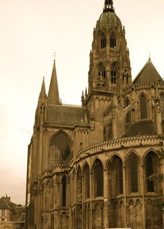 Bayeux Cathedral...photo by debbiesawyer