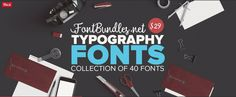 Typography Fonts Bundle so zľavou 95%! - https://detepe.sk/typography-fonts-bundle-so-zlavou-95/
