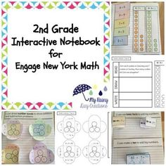 Are you looking for a way to bring the Engage New York curriculum to life? This resource is an important companion to the second grade Engage New York Module 1 on addition and subtraction. Please note: This product only includes the interactive notebook pieces.
