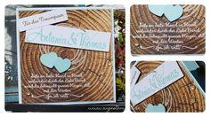 Stampin´Up! Personalisierte Hochzeitskarte, Baumringe, Designerpapier www.angestempelt.de
