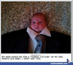 Formal baby pictures