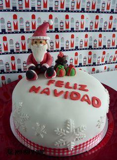 Tarta Navidad Papa Noel