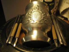 Repusowane Palo Santo do Yerba Mate  #palosanto #yerbamate #mateart #robertprzydatek #metalart #handmade #polandhandmade