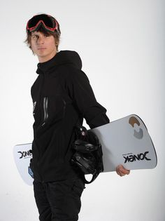 Evan Strong Snowboarder Evan Strong poses for a portrait during the USOC Portrait Shoot at Smashbox West Hollywood on April 23, 2013 in West...