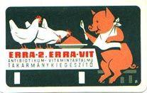 Hungarian pocket calendar, 1964