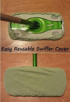 Make your own Swiffer...no more buying the expensive refills!