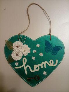 Wooden heart, home decor.....